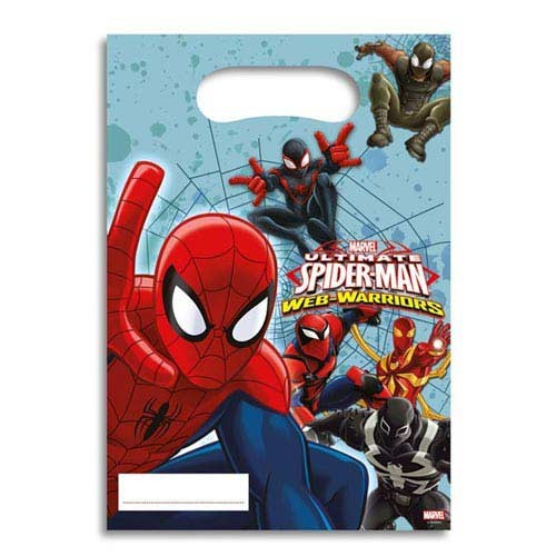 Party Bags - Ultimate Spider Man Web Warriors