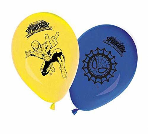 """11"""" Printed Balloons - Ultimate Spider Man Web Warriors"""