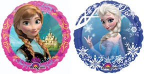 "Frozen - 9"" Air Inflation Foil Balloon"