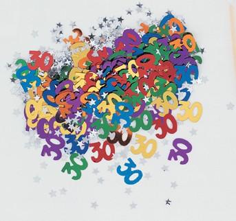 30th Confetti