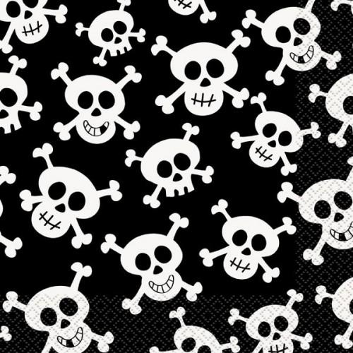 Skulls Luncheon Napkins 16CT
