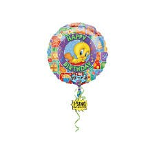 Tweety ''I Sing'' Singing Balloon 28'' Supershape foil