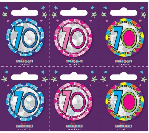 Age 70 Small Badges (5.5cm)