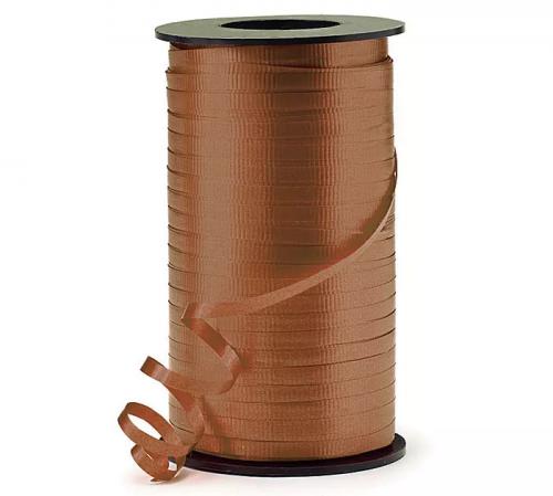 Brown Curling Ribbon 500m