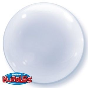 "Clear Deco Bubble 24"""