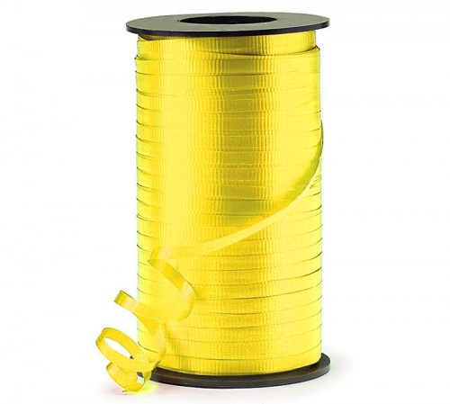 Daffodil Yellow Curling Ribbon 500yds