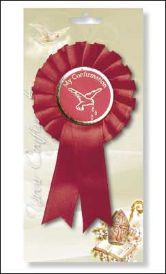 Confirmation Rosette - Pack of 6