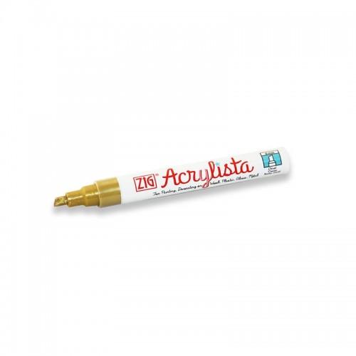 Gold Acrylista Chisel Pen  (6mm)