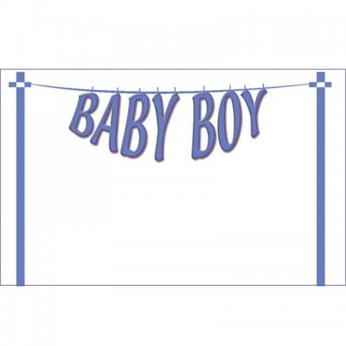 Baby Boy Washing Line (Pack of 50)