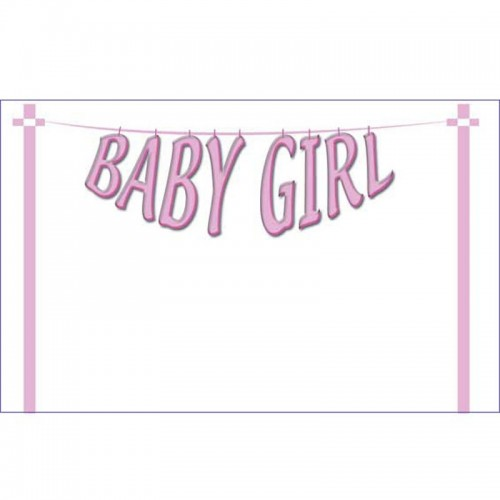 Baby Girl Washing Line (Pack of 50)