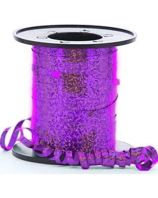 Purple Holographic Curling Ribbon 5mm x 250m