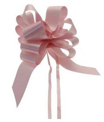 Baby Pink Pull Bow 50mm - Pack of 20