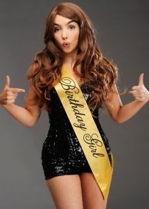 Black & Gold - Birthday Girl - Sash