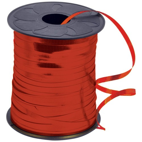 Red Metallic Curling Ribbon 5mm x 250m