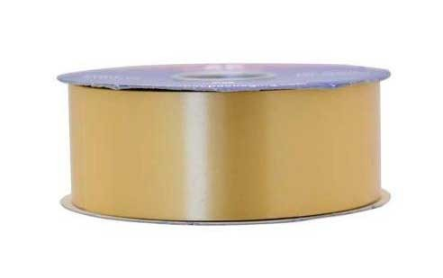 Gold Poly Ribbon - 2 Inch x 100yds