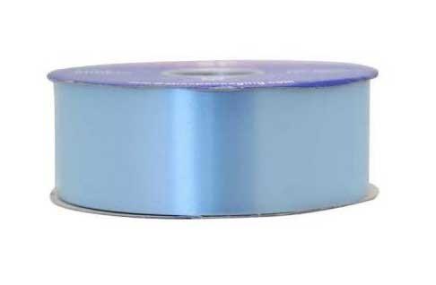 Pale Blue Poly Ribbon - 2 Inch x 100yds