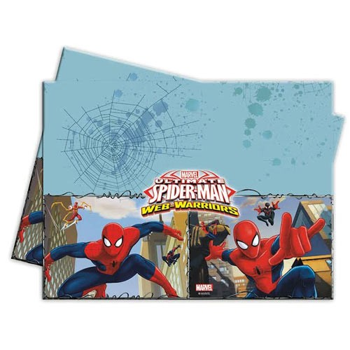 Plastic Tablecover 120 x 180cm - Ultimate Spider Man Web Warriors