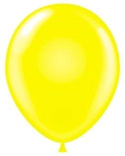 "12"" Yellow Afflotex Latex Balloons 100ct"