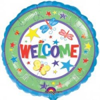 "Welcome - 18"" foil balloon"