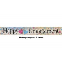 Happy Engagement Prismatic Banner