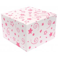 Balloon Box Pink (370 x 370 x 245) (Pack of 25)
