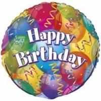 "Happy Birthday 18"" Foil Balloon"