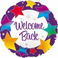 "Welcome Back - 18"" Foil Balloon"