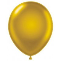 "12"" Gold Pearlised Latex Balloons 100ct"