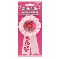 AWARD RIBBON BRIDE TO BE