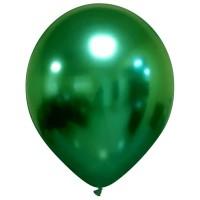 "Chromium Pro 13"" Green Superior Latex Balloon 25ct"