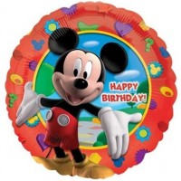 "Mickey - Happy Birthday - 18"" Foil Balloon"