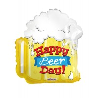 """Happy Beer Day 18"""" Foil Balloon"""