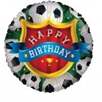 "Happy Birthday Soccer 18"" Foil Balloon"