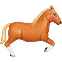 "Light Brown Horse 43"" Supershape"