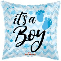 "Blue It's A Boy 18"" Foil Balloon"