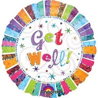 "Get Well - 18"" Foil Balloon"