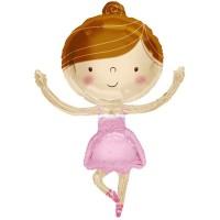 """Ballerina 36"""" Foil Balloon"""