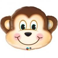 "Happy Monkey Head 35"" Supershape"
