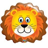 """Lovable Lion 29"""" Shape Foil Balloon"""