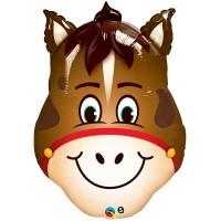 "Hilarious Horse 32"" Shape Foil Balloon"