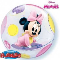 "Minnie Mouse Baby 22"" Single Bubble"