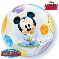 "Mickey Mouse Baby 22"" Single Bubble"