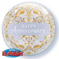 "Anniversary Classic 22"" Single Bubble"