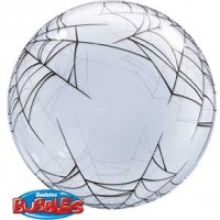 "Spider's Web 22"" Deco Bubble"