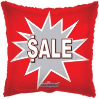 "Sale Pillow Balloon - 18"" foil balloon"