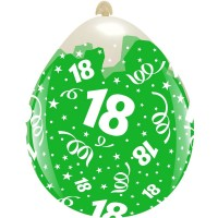 """18 Clear 18"""" Stuffing Balloon 10Ct"""