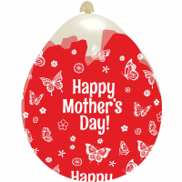 "Happy Mother's Day 18""  Stuffing Balloon 10ct"