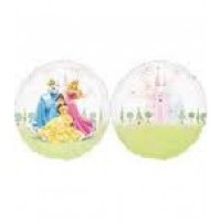 "Three Princesses 26"" See Thru Supershape foil balloon"