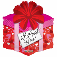 "18"" foil balloon i love you!  gift"