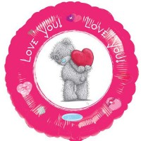 "Love You - Me To You 18"" Foil Balloon"
